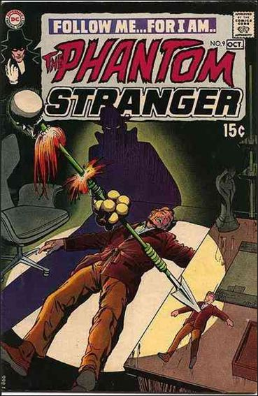 Phantom Stranger (1969) 9-A by DC