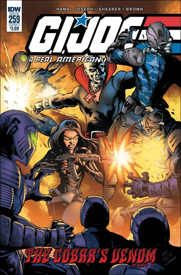 G.I. Joe: A Real American Hero 259-A by IDW