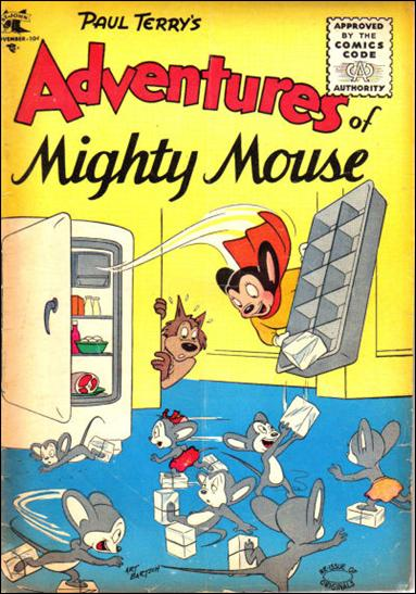 Adventures of Mighty Mouse (1955) 128-A by St. John