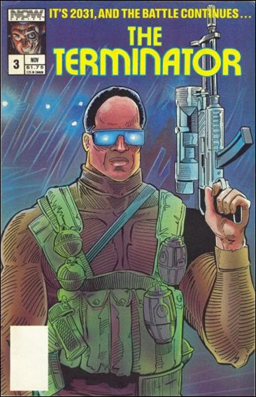 Terminator (1988) 3-A by Now Comics