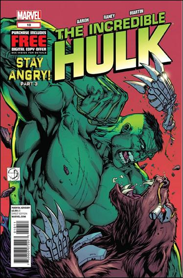 Incredible Hulk (2011)  10-A by Marvel