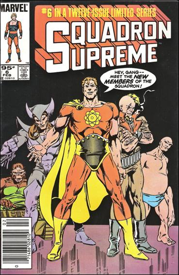 Squadron Supreme (1985) 6-B by Marvel