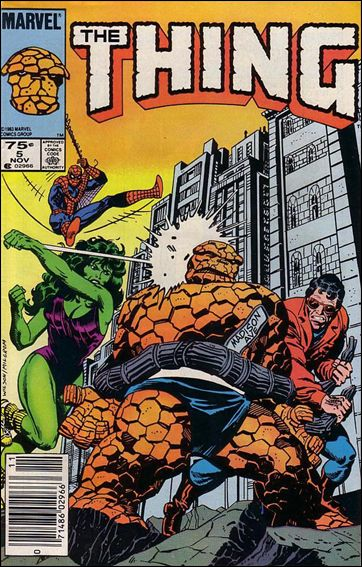 Thing (1983) 5-B by Marvel