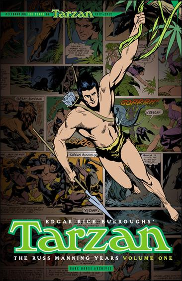 Tarzan: The Russ Manning Years 1-A by Dark Horse