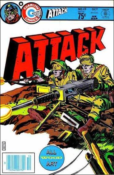 Attack (1971) 48-A by Charlton
