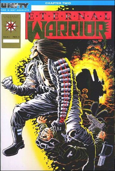 Eternal Warrior (1992) 1-C by Valiant