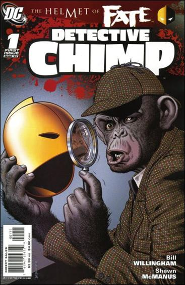 Helmet of Fate: Detective Chimp 1-A by DC