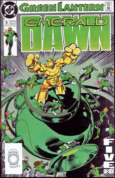 Green Lantern: Emerald Dawn 5-A by DC