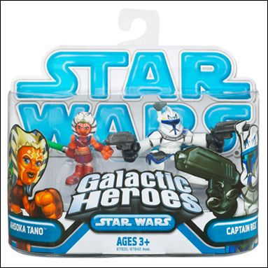 Star Wars: Galactic Heroes Captain Rex and Ahsoka Tano by Hasbro