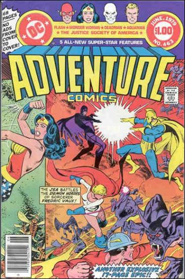 Adventure Comics (1938) 463-A by DC