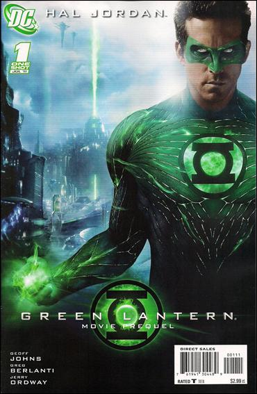 Green Lantern Movie Prequel: Hal Jordan 1-A by DC
