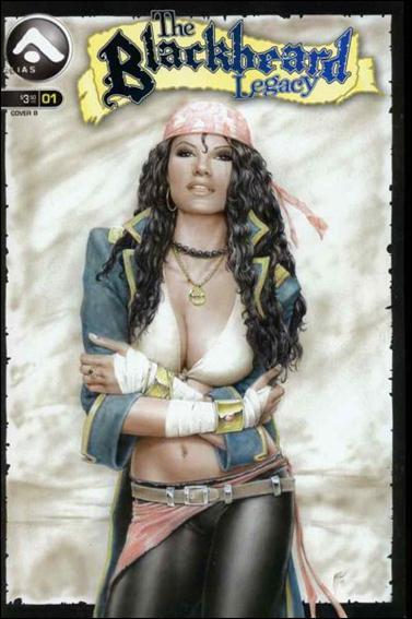 Blackbeard Legacy (2006) 1-B by Alias