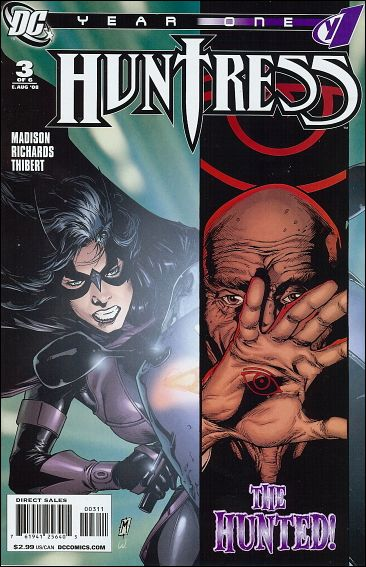 Huntress: Year One 3-A by DC