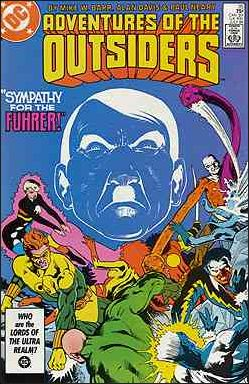 Adventures of the Outsiders 35-A by DC