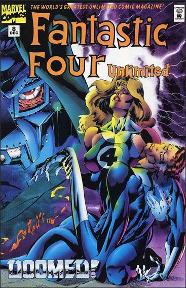 Fantastic Four Unlimited 8-A by Marvel