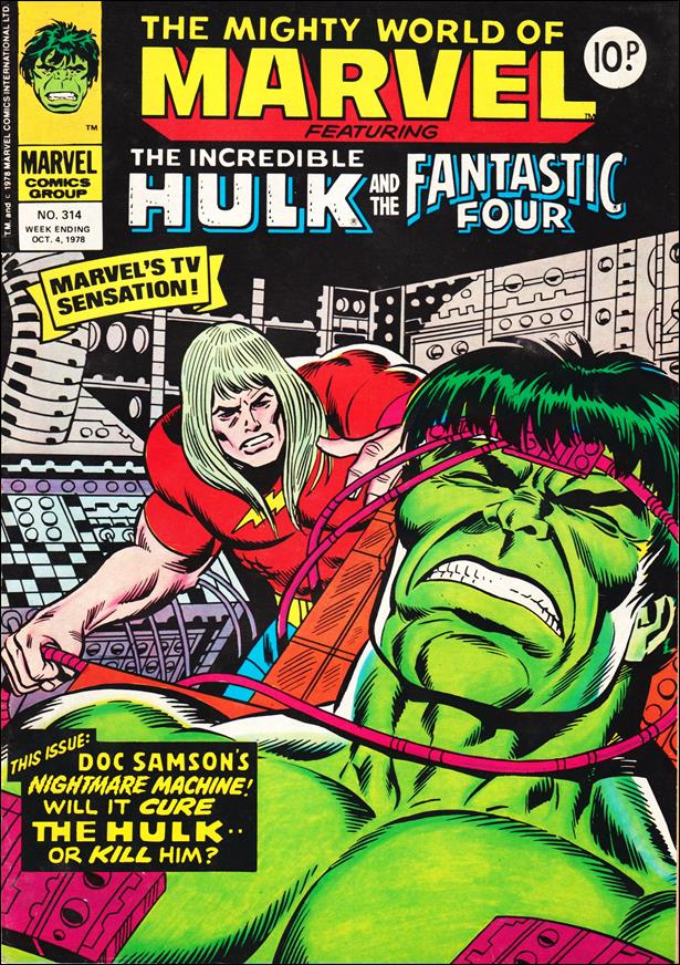 Mighty World of Marvel (UK) (1972) 314-A by Marvel UK