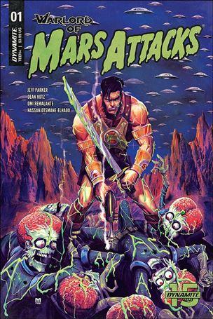 Warlord of Mars Attacks 1-B