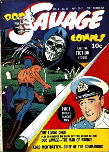 Doc Savage Comics (1940) 10-A by Street and Smith Publications