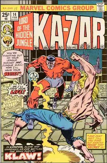 Ka-Zar (1974) 14-A by Marvel