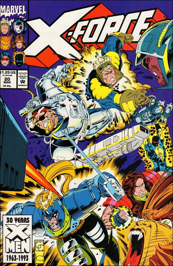 X-Force (1991) 20-A by Marvel