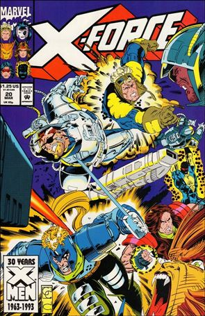 X-Force (1991) 20-A