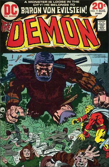 Demon (1972) 11-A by DC