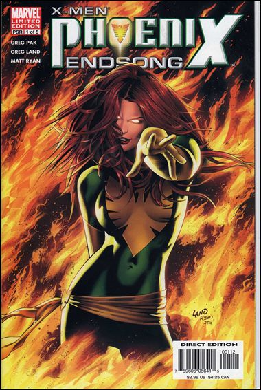 X-Men: Phoenix - Endsong 1-B by Marvel