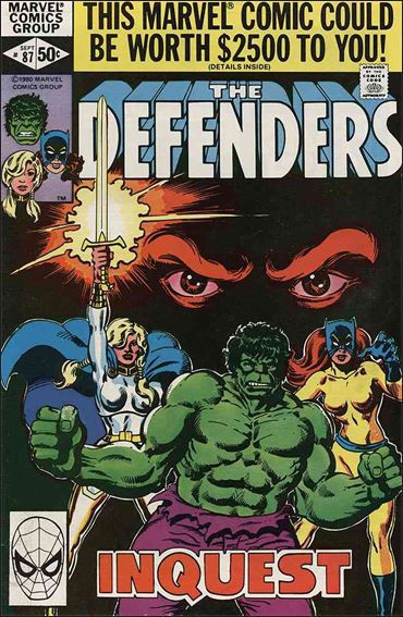Defenders (1972) 87-A by Marvel