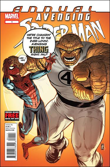 Avenging Spider-Man Annual 1-A by Marvel