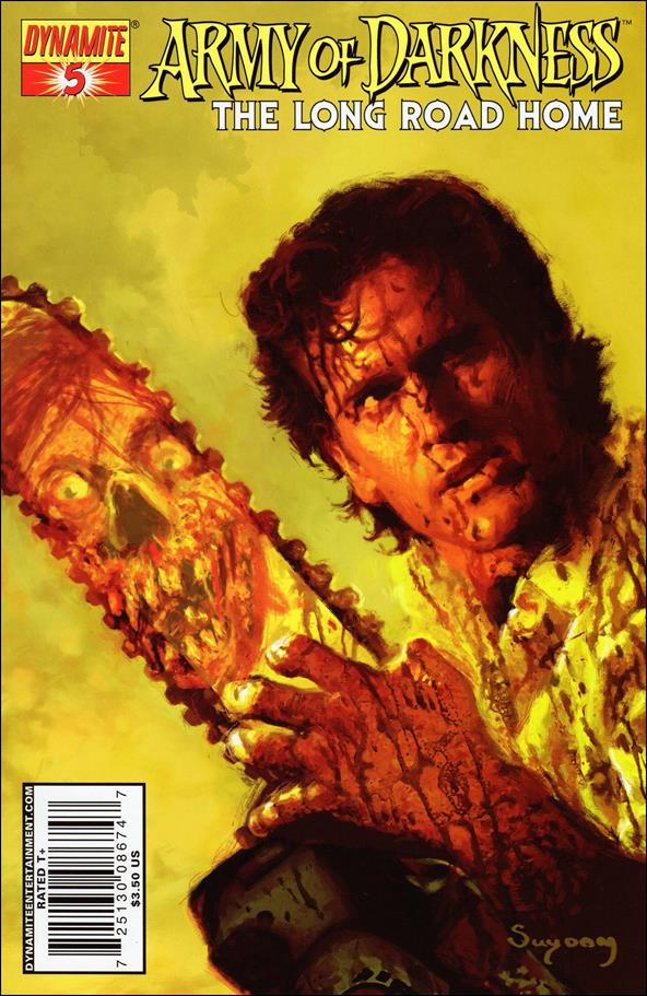 Army of Darkness: The Long Road Home 5-A by Dynamite Entertainment
