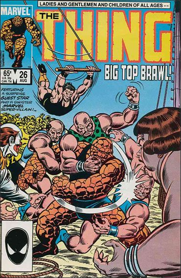 Thing (1983) 26-A by Marvel