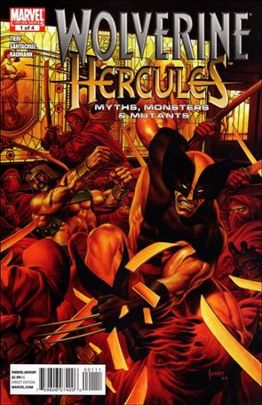 Wolverine/Hercules: Myths, Monsters & Mutants 1-A