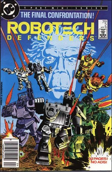 Robotech Defenders 2-A by DC