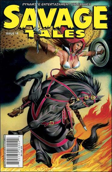 Savage Tales (2007) 4-B by Dynamite Entertainment