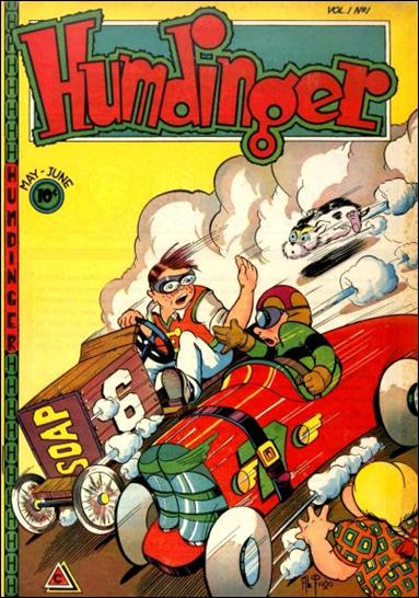 Humdinger (1946) 1-A by Novelty Press
