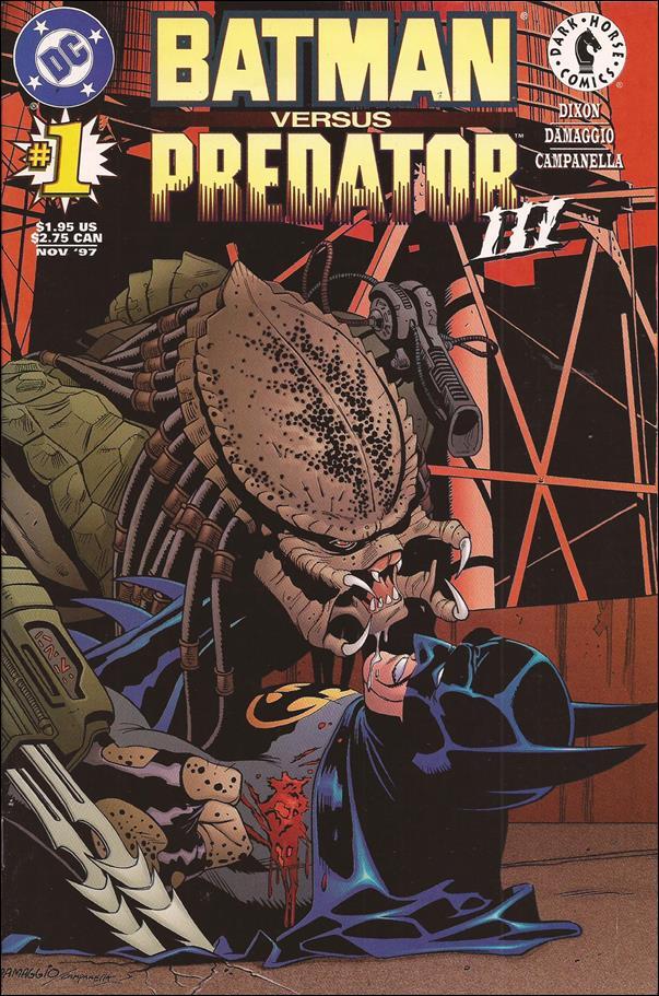 Batman Versus Predator III 1-A by DC