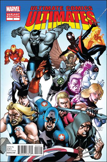 Ultimate Comics Ultimates 4-B by Marvel