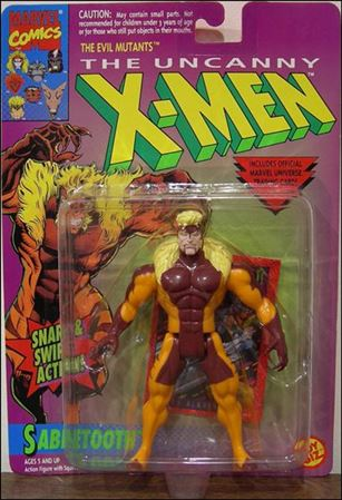 "X-Men 5"" Action Figures Sabretooth (2nd Edition)"