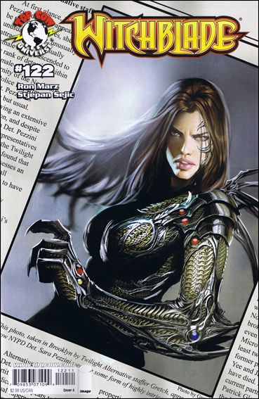 Witchblade 122-A by Top Cow