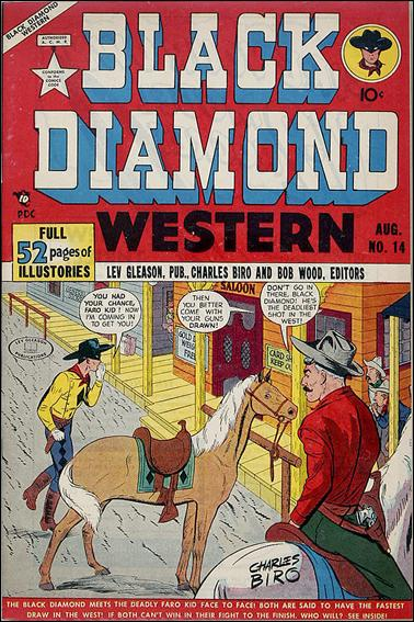 Black Diamond Western 14-A by Lev Gleason Productions