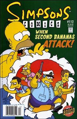 Simpsons Comics 112-A