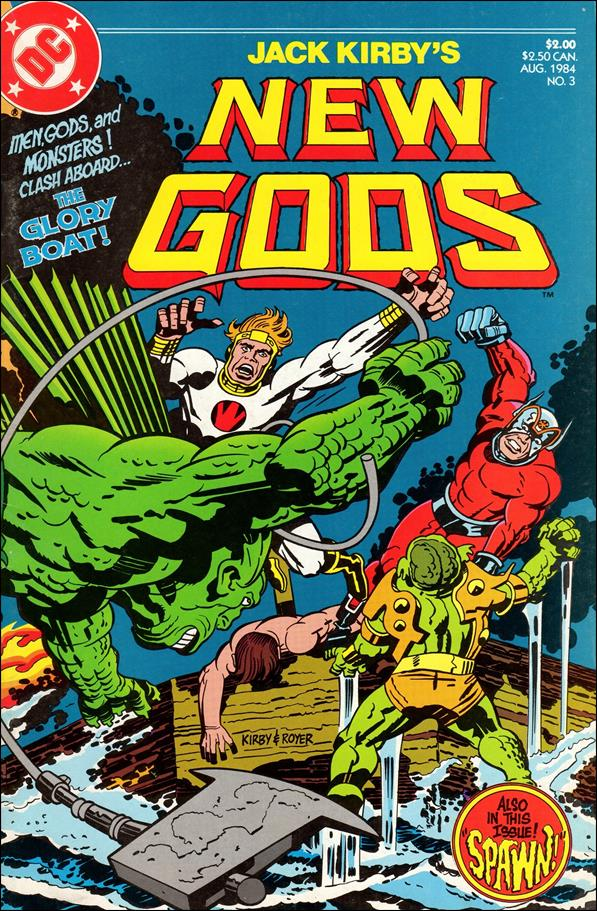 New Gods (1984) 3-A by DC