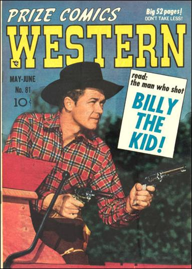 Prize Comics Western 81-A by Feature