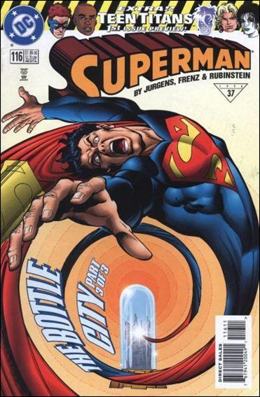 Superman (1987) 116-A by DC