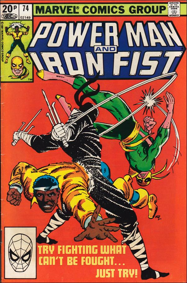Power Man and Iron Fist (1978) 74-B by Marvel