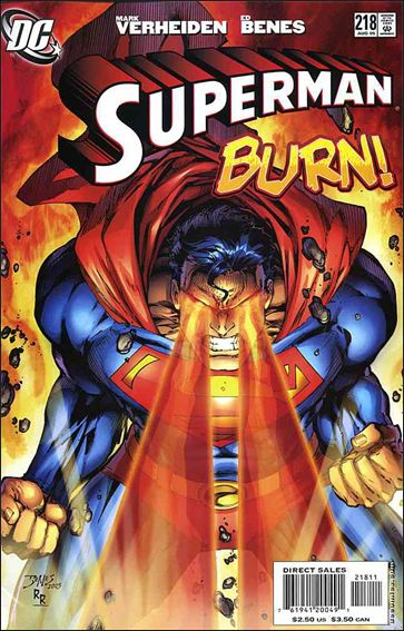 Superman (1987) 218-A by DC