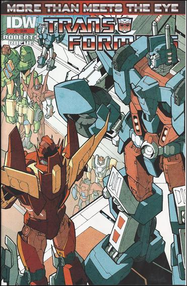 Transformers: More Than Meets the Eye (2012) 2-D by IDW