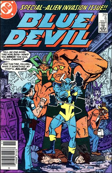 Blue Devil 6-A by DC