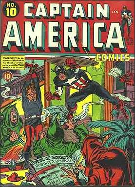 Captain America Comics (1941) 10-A by Timely