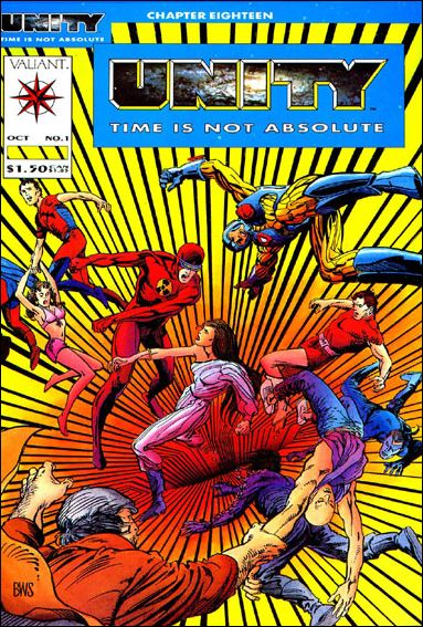 Unity (1992) 1-B by Valiant